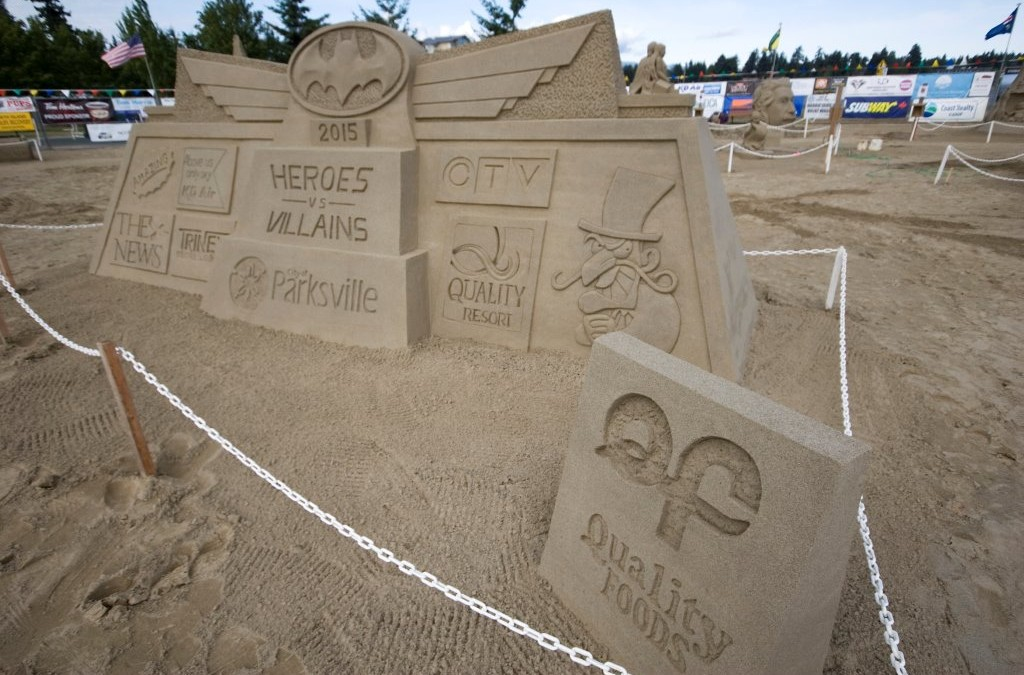 Canadian Open Sand Sculpting Competition and Exhibition Welcome New Producers